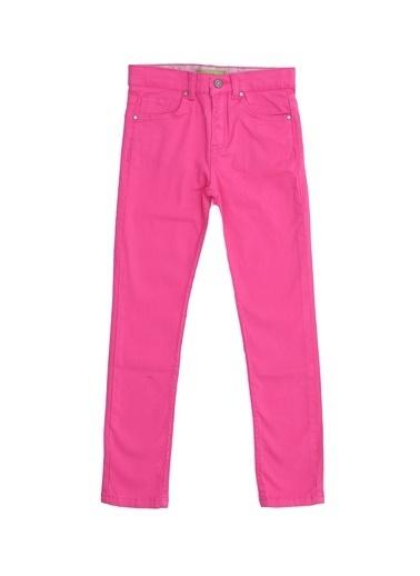 Limon Company 72Tur Normal Bel Normal Paça Pamuklu Kız Çocuk Pantolon Pembe